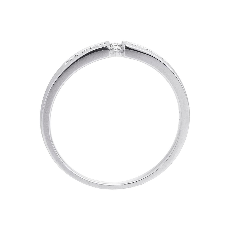 Damen Ring Weissgold Diamant 0 07 Ct H Si Sor10 52 Juwelier