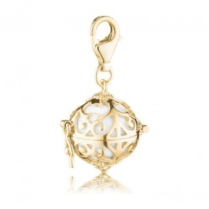 Engelsrufer Charm gold plated, ERC-01-G