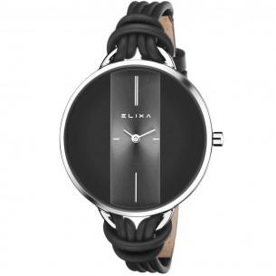 Damenuhr - Finesse mit modischem Lederarmband, E096-L372-K1