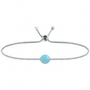 Engelsrufer Armband Silber 925/- Aquamarin 80208, 4260562165227