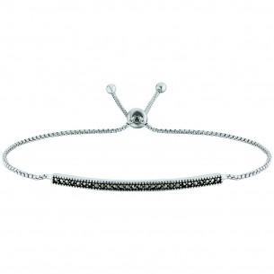 Engelsrufer Armband Silber 925/- Markasit 80212, 4260562167177