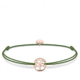 Armband Little Secret - Lebensbaum silberrose vergoldet, LS036-898-6-L20V