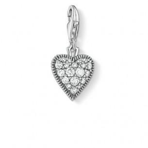 Charm Anhänger- Vintage Herz, 1747-643-14