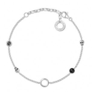 Armband Silber - Totenkopf, X0275-641-11-L19V