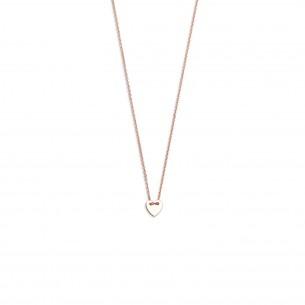 Xenox Collier Silber rose vergoldet - Herz, XS3566R