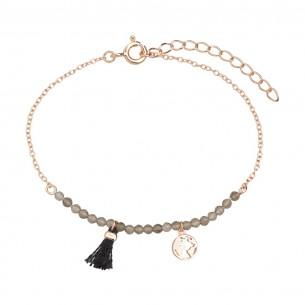 Armband Silber rose vergoldet, XS3169R