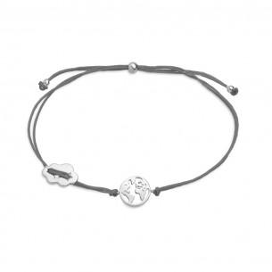 Armband Silber - Wanderlust, XS3167