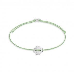 Armband Mädchen - Kleeblatt silber, XS1687
