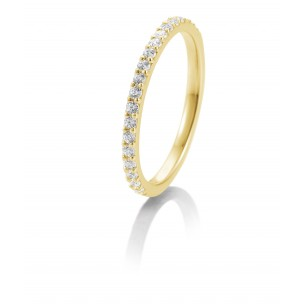 Saint Maurice Memoire Ring Gelbgold