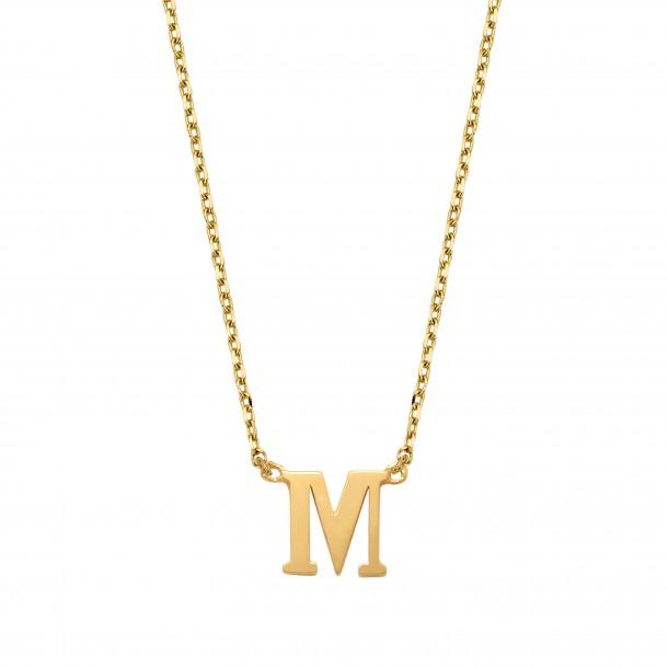 Schneider Goldketterl mit Buchstaben 585/- Gold 81245, 8720143053719