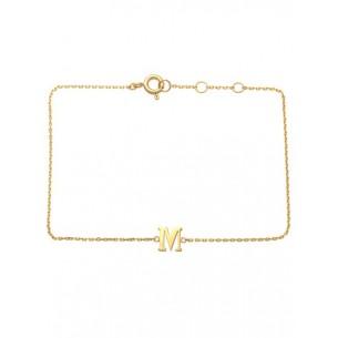 Schneider Armband mit Buchstabe 585/- Gold 81250, 8720143053979