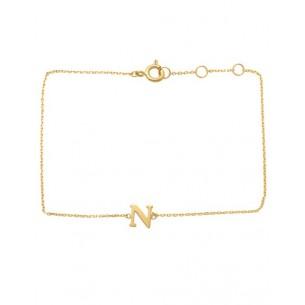Schneider Armband mit Buchstabe 585/- Gold 81251, 8720143053986