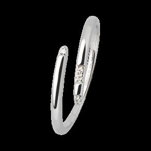 Xenox Fashion Ring in 9Karat Weißgold 81363, 9010050054374