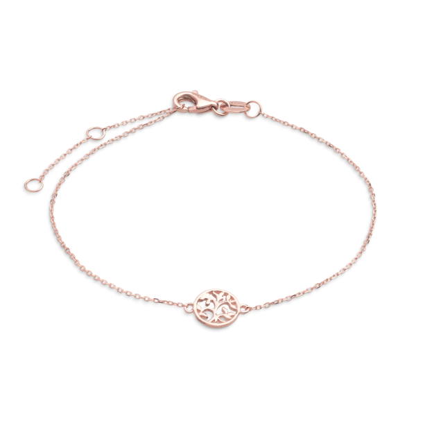 Xenox Symbolic Armband Baum des Lebens in 9kt Rosegold 81393, 9010050053780