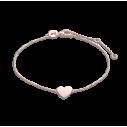 Xenox Herz Armband in 9Karat Rotgold 81374, 9010050053902