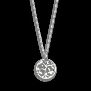 Xenox Symbolic Halskette Baum des Lebens in 9kt Weißgold 81390, 9010050053643