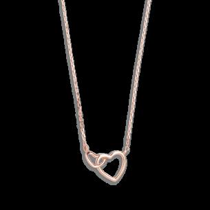 Xenox Symbolic Halskette mit Herz in 9kt Rosegold 81389, 9010050053667