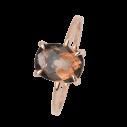 Xenox Fashion Ring mit Rauchquarz in 9Karat Rosegold 81381, 9010050060443
