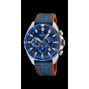 Festina Festina Herrenchronograph Blau / Orange 81455, 8430622716829