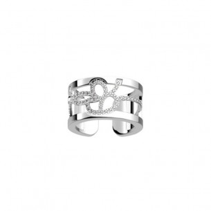 Les Georgettes LePreciouses Pe tales - Ring Zirkonia Weite: 52-54 81839, 3607051489500