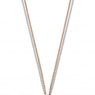 Sueno Sueno by MP - Silberkette 925- silber -rosé vergoldet (ohne Anhänger) 81802, 08882615