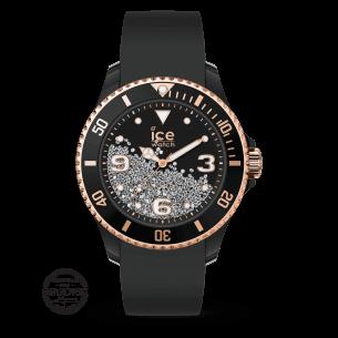 ICE Watch Ice crystal Black rose-gold - Damenuhr 81907, 4895164092871
