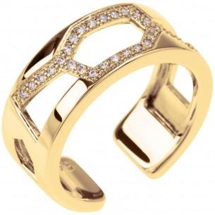Les Georgettes Les Georgettes Schmuck -Ring gold Zirkonia 81187, 3607051490261