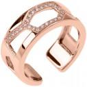 Les Georgettes Les Georgettes Schmuck -Ring rose' vergoldet Zirkonia 81190, 3607051490292