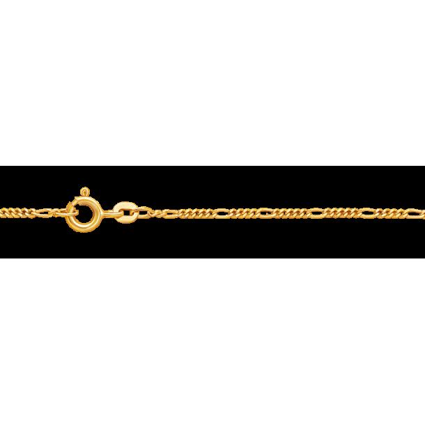 DIADORO Goldkettchen Figarokette Gelbgold 327, 9120049253012
