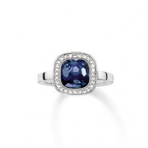 Thomas Sabo - Sterling Silver Thomas Sabo Ring - dunkelblauer Cosmo 53948, 4051245133110