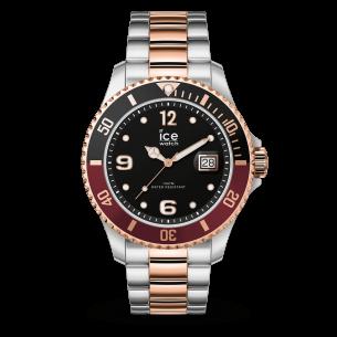 ICE Watch Herrenuhr Ice steel - Chic silver rose-gold 82088, 4895164088775