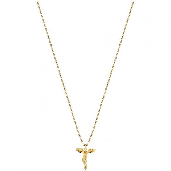 Engelsrufer Collier Schutzengel `LilAngel` in Silber vergoldet 82162, 4260645869448