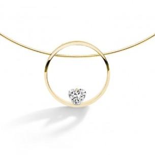 Florian-Julian Feichtinger Halskette in Silber vergoldet 82176, 9120081460133