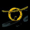 Florian-Julian Feichtinger Halskette 925 Silber vergoldet mit Zirkonia 82178, 9120081460225