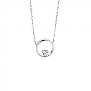 Florian-Julian Feichtinger Halskette Silber mit Zirkonia 82179, 9120081460966
