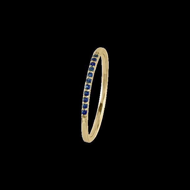 Jacques Lemans Ring silbervergoldet 925/- mit Iolith 82272, 4040662153481
