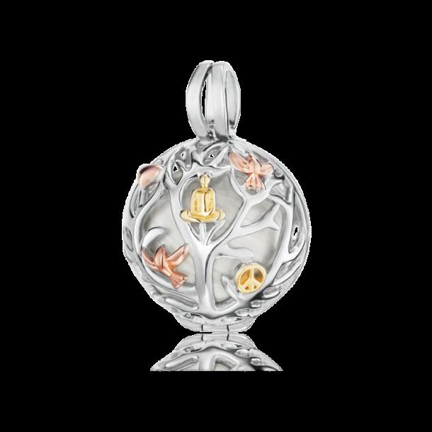 Engelsrufer Anhänger Silber - Lebensbaum tricolor 69687, 4260463190045