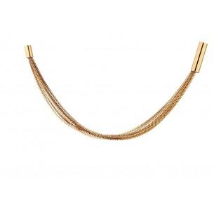Elixa Armband Edelstahl vergoldet 83142,