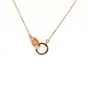 Juwelier Waschier Collier Rosegold 750 Infinity 83265,