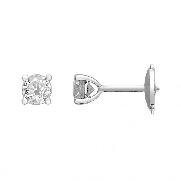 EcoGrown.Diamonds Ohrstecker Brillant labgrown 0,60ct Weissgold 18k 83271,