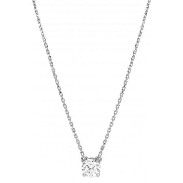 EcoGrown.Diamonds Brillantcollier labgrown 0,50ct Weissgold 18kt 83274,