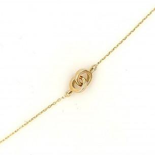 Juwelier Waschier Armband Gelbgold 750 Infinity 83264,