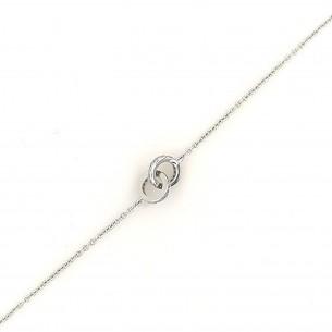 Juwelier Waschier Armband Weissgold 750 mit Brillanten 83261,