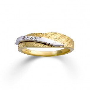 Palido Ring Bicolor Gold 14k Zirkonia 83311, 9010595778698