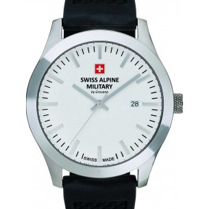 Swiss Alpine Military Herrenuhr mit Kautschukband 83342, 7611751167312