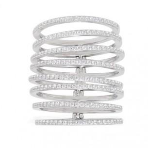 APM Schmuck Ring SI 925 Zirkonia, A15708OX