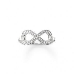 Thomas Sabo - Sterling Silver Ring Infnity Zirkonia 53727, 4051245130836