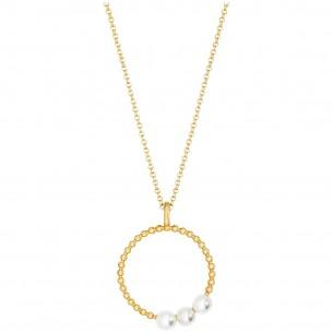 Engelsrufer Kette Pearls silbervergoldet 925/- 83624, 4260645862968