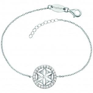 Engelsrufer Armband Lebensblume Silber Zirkonia 83600, 4260645863361