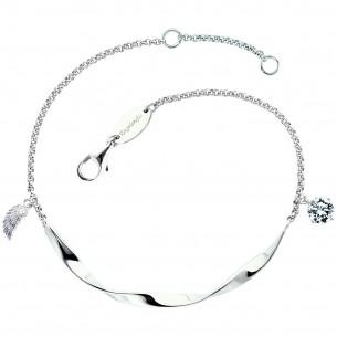 Engelsrufer Armband Twist Flügel silber mit Zirkonia 83602, 4260645863033